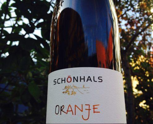ORANJE Schönhals orange wine