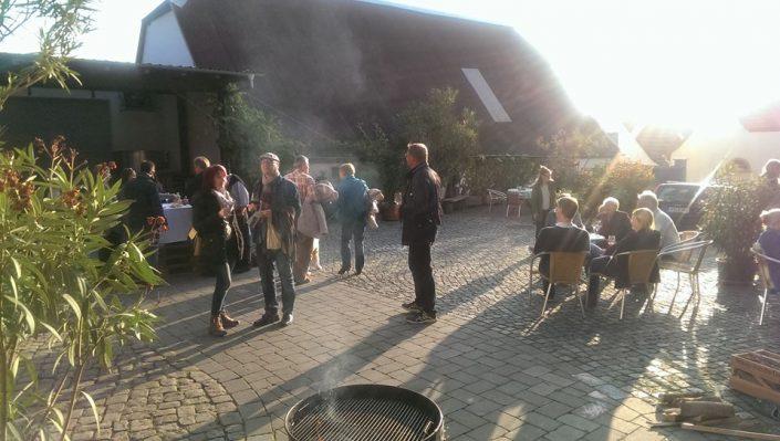 Herbstpräsentation im Weingut Schönhals am 27.10.2018
