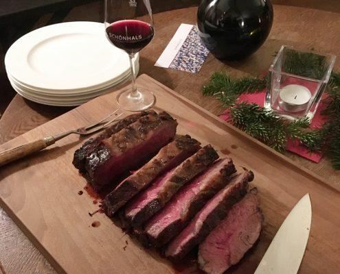 Fleisch und Wein - neue Erkenntnisse beim Beeftastin-Weingut Schönhals
