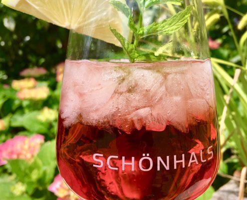 Roséwein Sommer Cocktail by Schönhals
