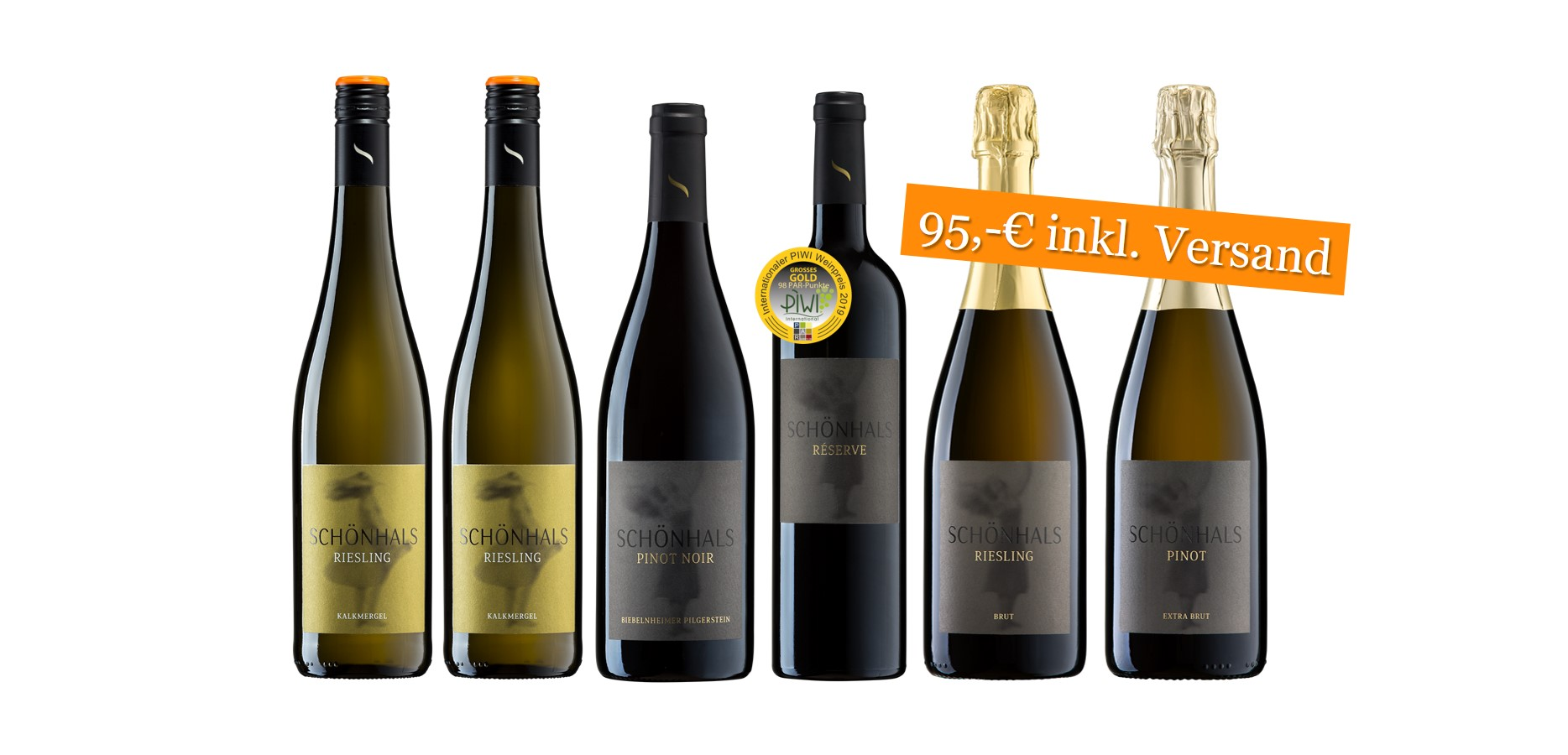 Weinpaket Festtags-Freude