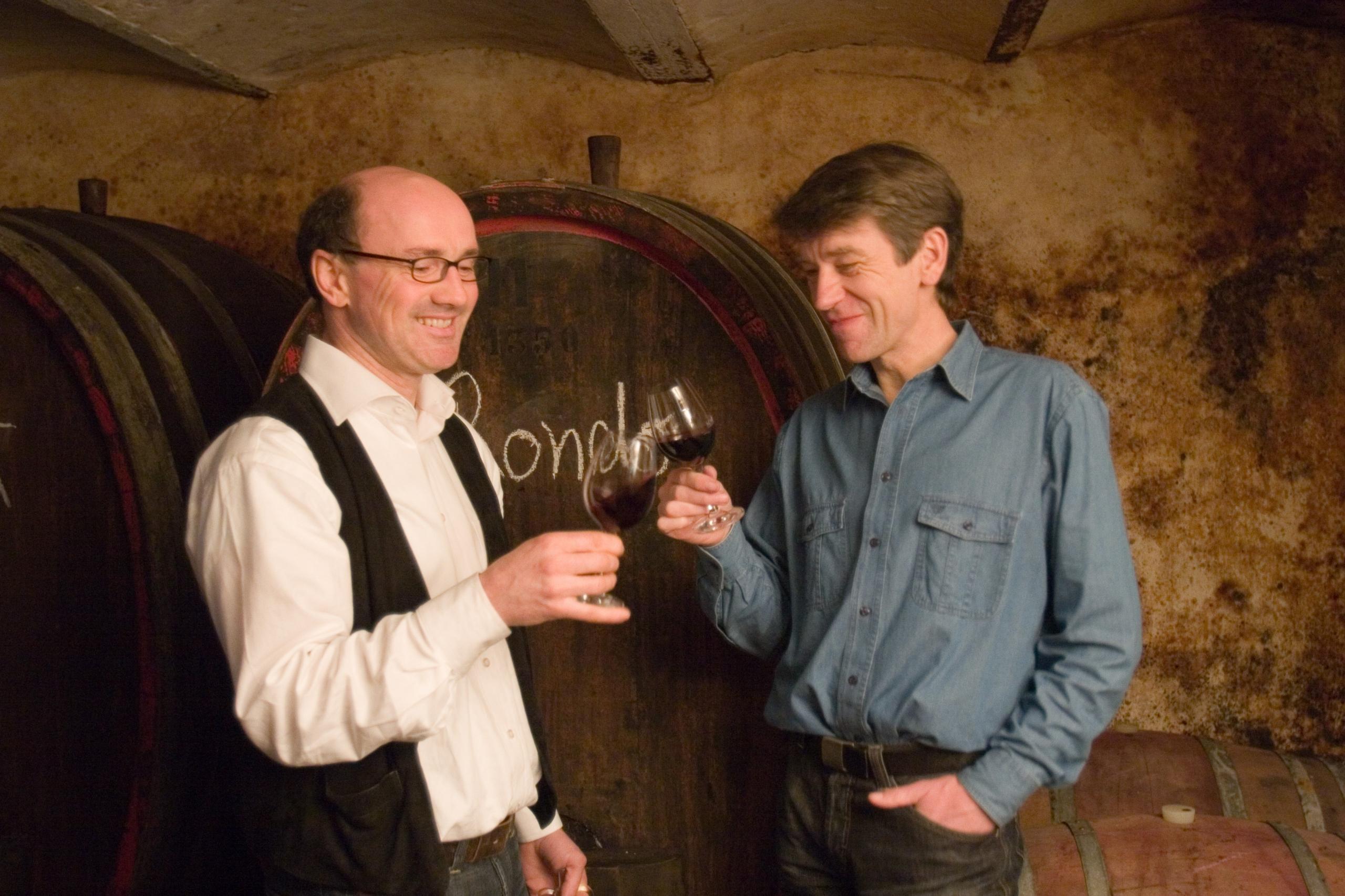 Martin Knab und Eugen Schönhals