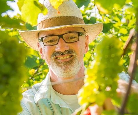 Martin Knab im Weingut Schönhals 2